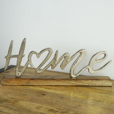Mounted Home Sign